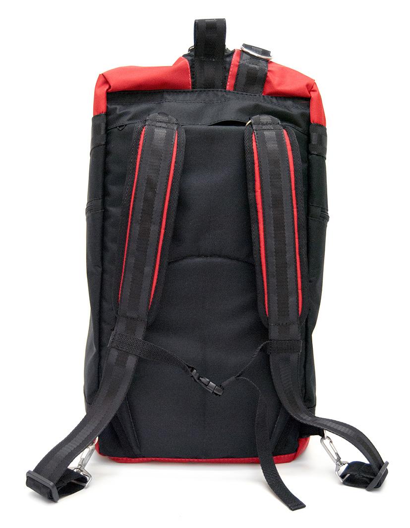 Сумка-рюкзак FitnessKa red